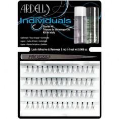 Стартовый набор для наращивания ресниц ARDELL INDIVIDUALS пучки Combo, пинцет, клей, удалитель клея