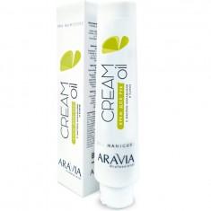 Aravia Cream Oil Крем для рук с маслом макадамии и карите 100мл Aravia professional