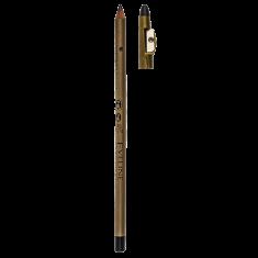 Карандаш для глаз EVELINE EYELINER PENCIL с точилкой водостойкий тон черный