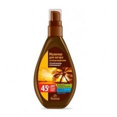 Флоресан молочко-спрей солнцезащитное spf45+ 160мл Floresan