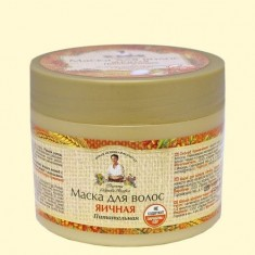 Рецепты бабушки Агафьи Маска Яичная питательная для всех типов волос 300мл Рецепты Бабушки Агафьи