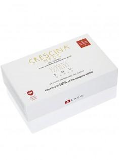 Crescina Комплекс 500 для женщин Лосьон для стимуляции роста волос №10 + Лосьон против выпадения волос №10 3,5 мл