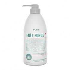 Оллин/Ollin Professional FULL FORCE Увлажняющий шампунь против перхоти с экстрактом алоэ 750мл
