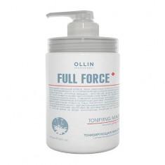 Оллин/Ollin Professional FULL FORCE Тонизирующая маска с экстрактом пурпурного женьшеня 650мл