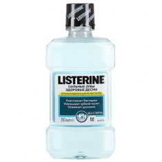 Listerine Ополаскиватель для полости рта Свежая Мята 250мл