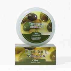 Крем питательный на основе масла оливы для лица и тела, 100 г (Deoproce)
