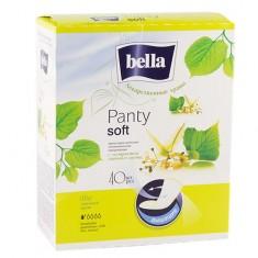 Прокладки ежедневные BELLA PANTY Soft с экстрактом липового цвета 40 шт