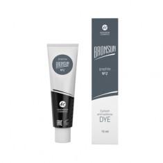 Innovator Cosmetics, Краска для ресниц и бровей Bronsun №2, графит, 15 мл