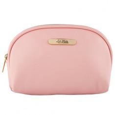 Косметичка LADY PINK BASIC must have овальная розовая