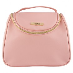 Косметичка-сундучок LADY PINK BASIC must have розовая