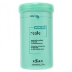 Kaaral Purify Reale Conditioner - Интенсивный восстанавливающий кондиционер для поврежденных волос, 1000 мл Kaaral (Италия)