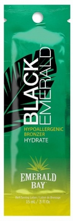 EMERALD BAY Лосьон гипоаллергенный с бронзаторами / Black Emerald 15 мл