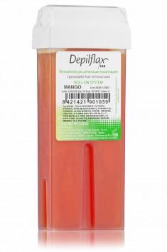 DEPILFLAX 100 Воск для депиляции в картридже, манго 110 г