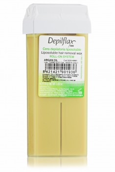 DEPILFLAX 100 Воск для депиляции в картридже, аргана 110 г