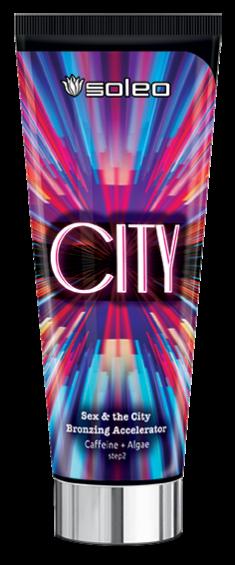 SOLEO Ускоритель загара с кофеином и бронзирующим комплексом / City 200 мл