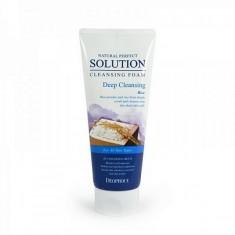 пенка для умывания рисовая вода deoproce natural cleansing foam deep cleansing