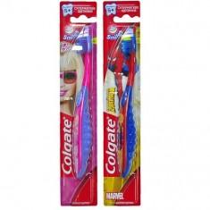 Колгейт Зубная щетка Smiles Barbie Spiderman детская старше 5 лет COLGATE