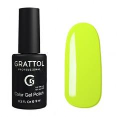 Grattol, Гель-лак Classic Collection №35, Pastel lemon