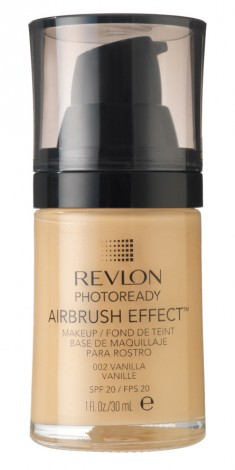 REVLON Крем тональный 002 / Photoready Airbrush Effect Makeup Vanilla