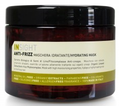 INSIGHT Маска разглаживающая для непослушных волос / ANTI-FRIZZ 500 мл