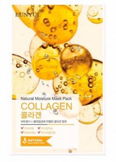 Тканевая маска с коллагеном EUNYUL Natural moisture mask pack collagen 23мл