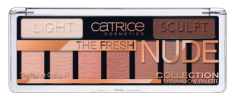 Тени для век CATRICE 9 в 1 The Fresh Nude Collection Eyeshadow Palette 010 нюдовый
