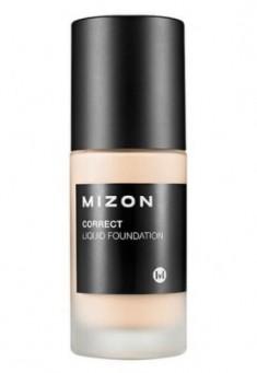 Тональная основа увлажняющая MIZON Correct Liquid Foundation SPF25 №21 Light Вeige