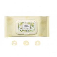салфетки очищающие the saem garden pleasure chamomile cleansing tissue
