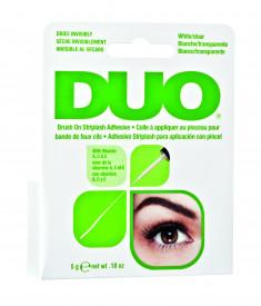 DUO Клей для накладных ресниц с витаминами прозрачный с кистью / Duo Brush On Clear Adhesive 5г