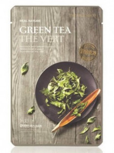 Маска с экстрактом зеленого чая THE FACE SHOP Real nature mask sheet tea tree 20г.