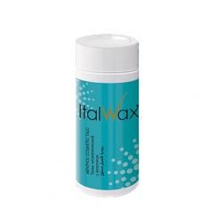 Italwax, Тальк косметический с ментолом, 50 г White Line