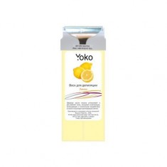 Yoko, Воск в картридже «Лимон», 100 г