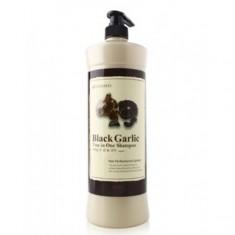 шампунь для волос 2-в-1 с черным чесноком lunaris black garlic two in one shampoo