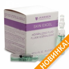 JANSSEN Концентрат ампульный Нормализующий / Normalizing Skin Fluid SKIN EXCEL 1*2 мл