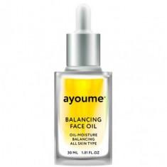 масло для лица восстанаваливающее ayoume balancing face oil with sunflower