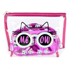 Набор косметичек LADY PINK CATS розовый 2 шт