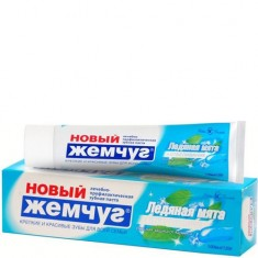 Зубная паста Ледяная Мята + Отбеливание в футляре НОВЫЙ ЖЕМЧУГ