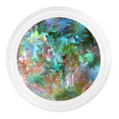 Patrisa Nail, Камифубуки «Кленовые листочки» №К82, зеленый микс