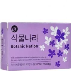 Мыло туалетное Botanical Nation экстракт лаванды CJ LION