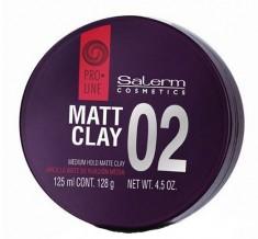 SALERM COSMETICS Помада пластичной фиксации для волос / Matt CIay 125 мл