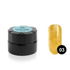 TNL, Гель-краска для стемпинга №03, золотая TNL Professional