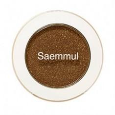 Тени для век мерцающие THE SAEM Saemmul Single Shadow (Shimmer) BR14 TMI Brown 2гр