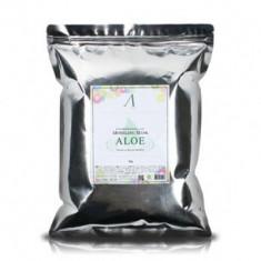 Маска альгинатная с алоэ успокаивающая Anskin Aloe Modeling Mask 1 кг