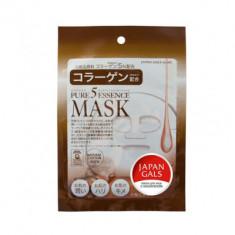 Маска с коллагеном Japan Gals Pure 5 Essential 1 шт