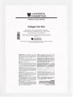 Коллаген осветляющий Janssen Cosmetics Collagen Fair Skin 1лист