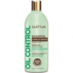 Шампунь Контроль для жирных волос Kativa