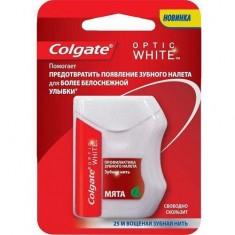 Зубная нить Optic white 25м COLGATE