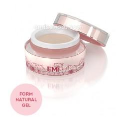 Form gel natural скульптурный гель для удлинения и восстановления свободного края ногтя 50 г E.MI