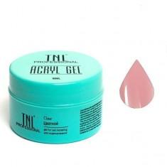 акрил гель камуфлирующий розовый парфе 18 мл tnl