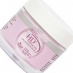 Ezflow акриловая прозрачно-розовая пудра hd pink powder 21г